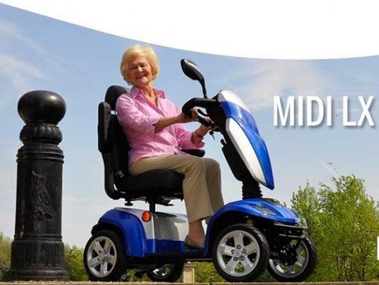 Scooter anziani di Kymco