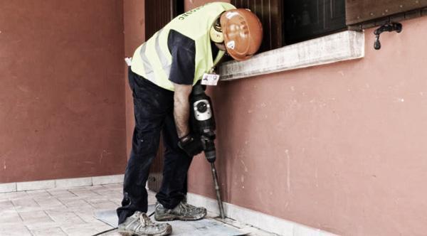 Realizzazione di fori per risolvere il problema dei cedimenti delle costruzioni, by GEOSEC®