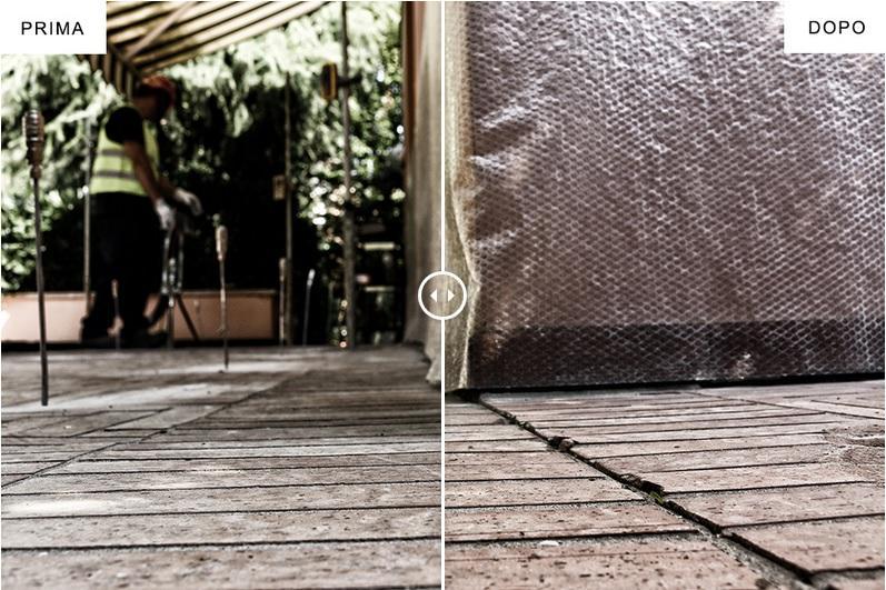 Consolidamento di pavimentazioni con il metodo Geosec