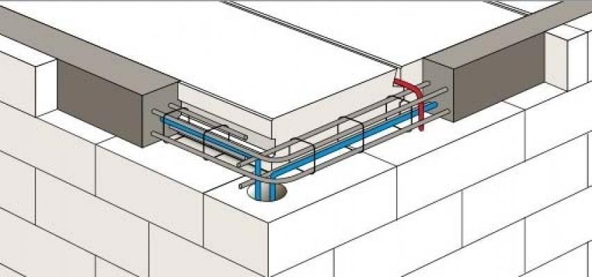 Blocchi in calcestruzzo cellulare for Disegni di blocchi di cemento casa