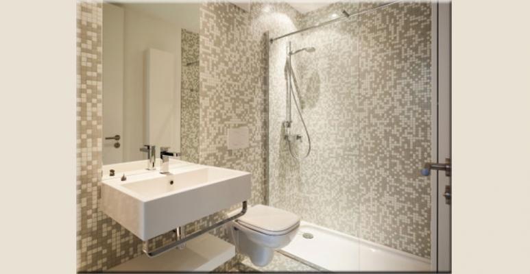 Fughe per pavimenti scelta del colore stuccatura e - Piastrelle tipo mosaico ...