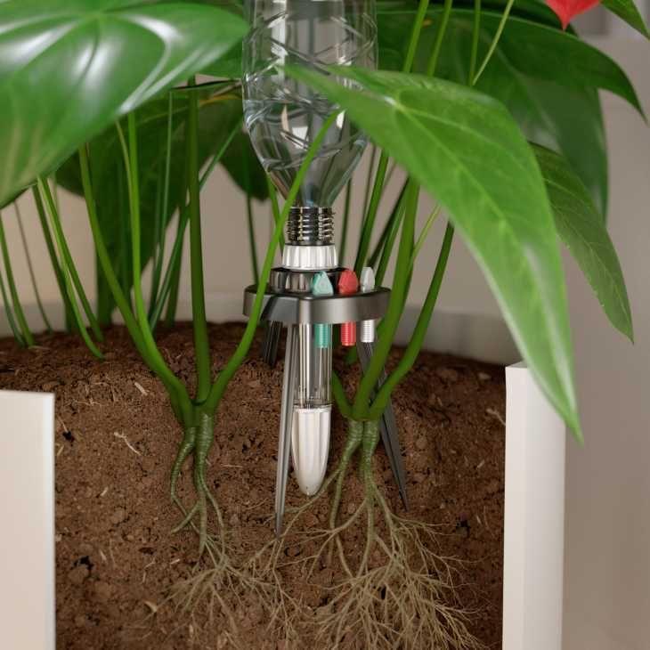 Irrigazione fai da te piante in vaso