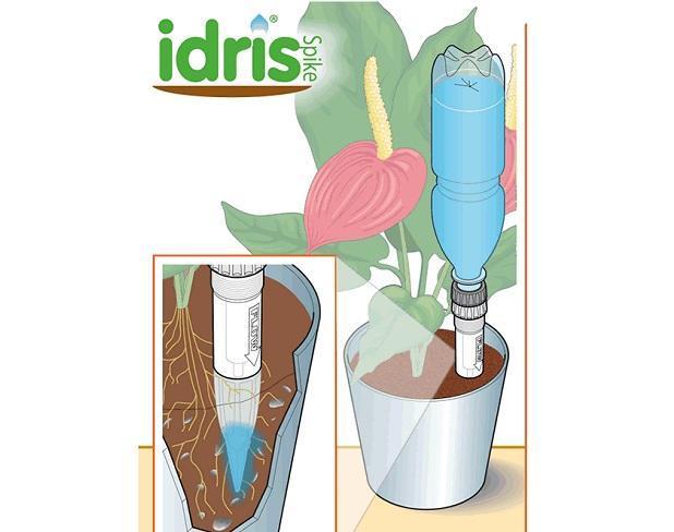 Irrigare le piante in vaso con il sistema Idris Spike