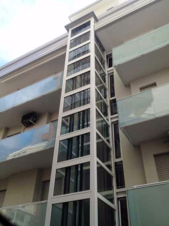 Impianto elettrico ascensore, ECOVimec