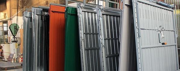 Porte garage blindate by Officine Locati