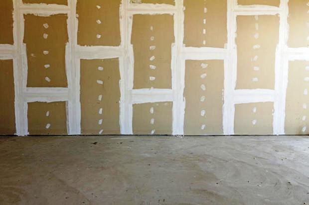 Stuccatura dei giunti parete in cartongesso