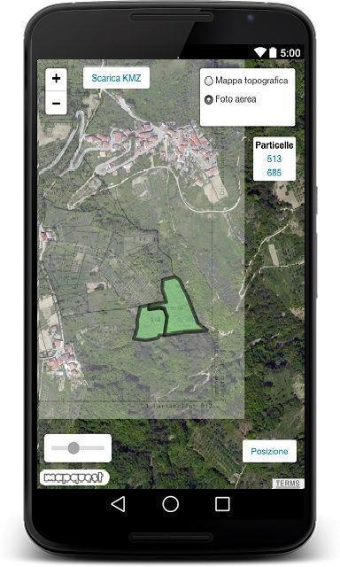 Google Earth e mappe catastali