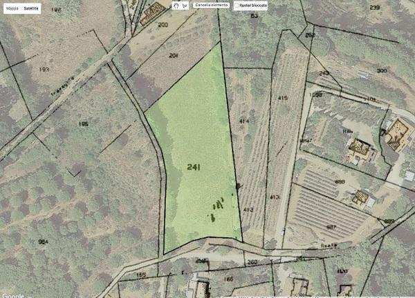 Sovrapposizione mappe catastali Google Earth