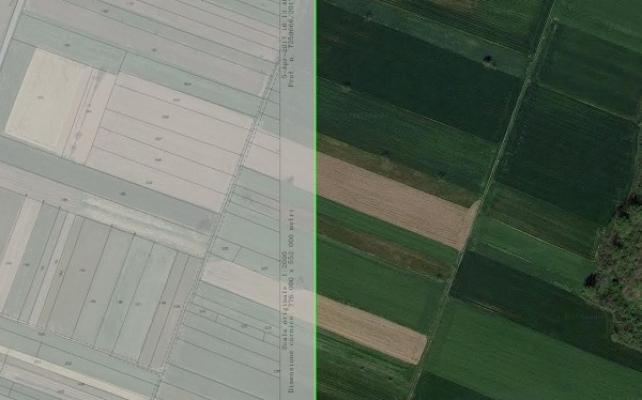 Mappa catastale e foto aerea con catamaps
