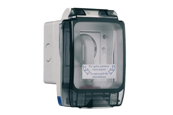 I contenitori AVE SEAL garantiscono protezione da acqua e polvere a spina inserita