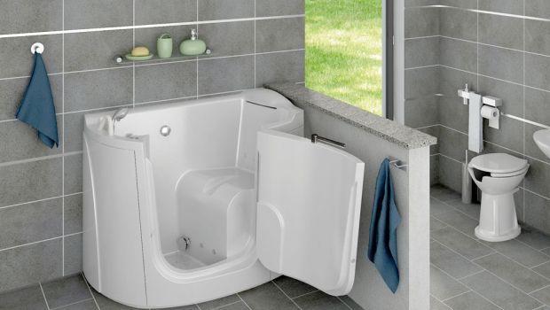 Vasche per disabili ed anziani