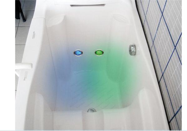 Cromoterapia in vasca