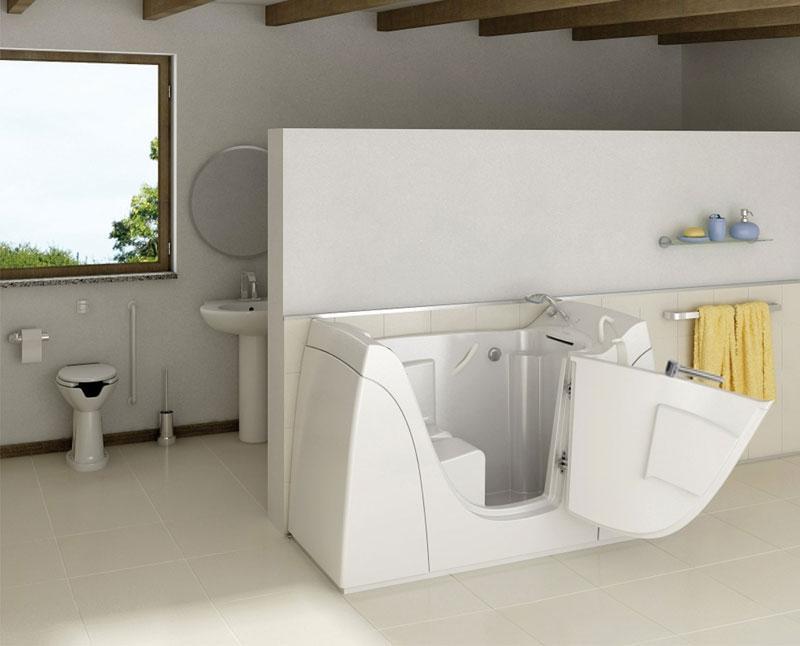 Foto vasche per disabili e anziani for Costi vasche da bagno