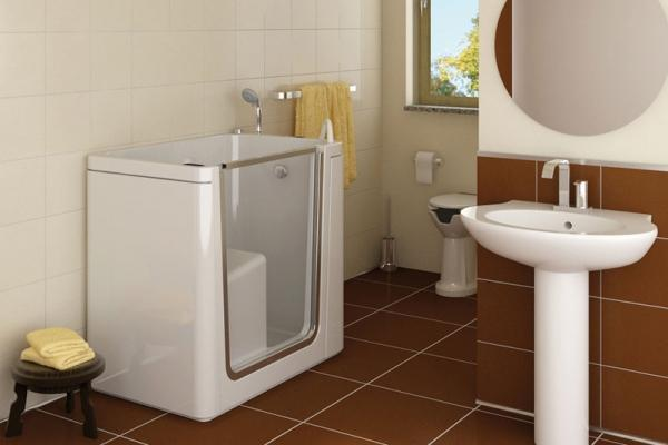 Vasca Da Bagno Per Anziani Misure : Vasche per disabili e anziani