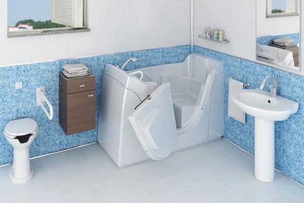 Vasche Da Bagno Per Disabili : Vasche per disabili e anziani