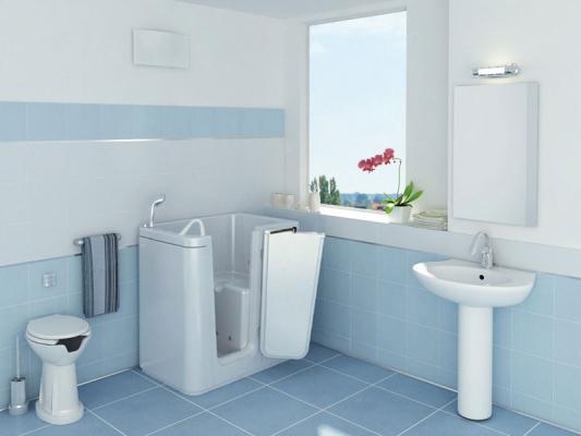 Vasche Da Bagno Apertura Laterale Misure : Vasche per disabili e anziani