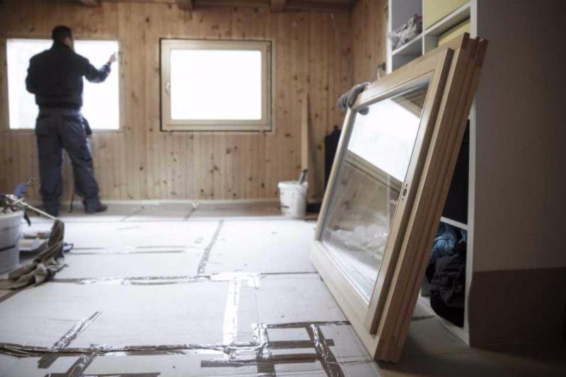 Telaio finestra, isolamento termico