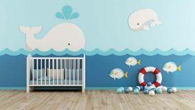 Decorare le pareti di una cameretta bambini