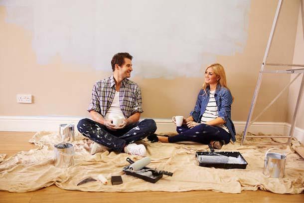 Stuccare, dipingere e decorare la casa