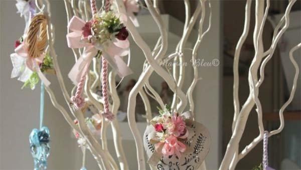 L'albero di Pasqua decorato