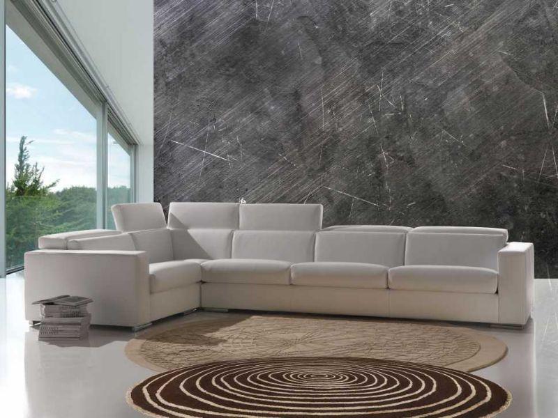 Modello di divano angolare Torino di Santambrogio
