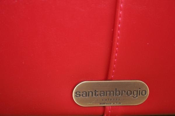 Divano chester in pelle Santambrogio Salotti