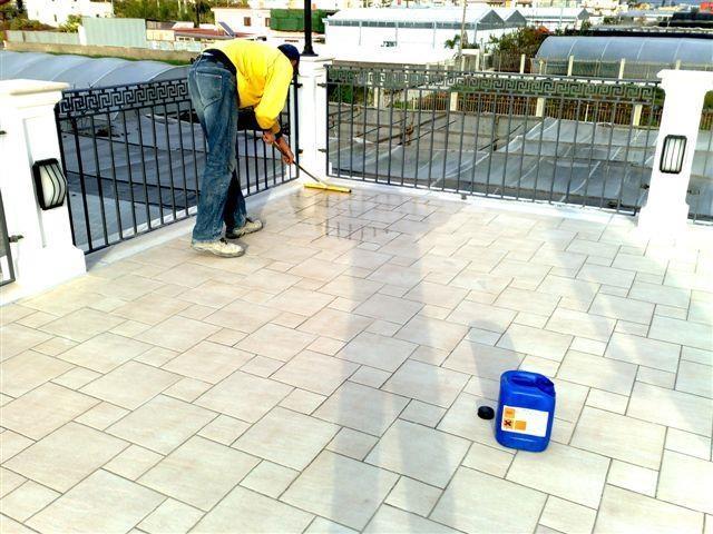Impermeabilizzazione trasparente terrazzo