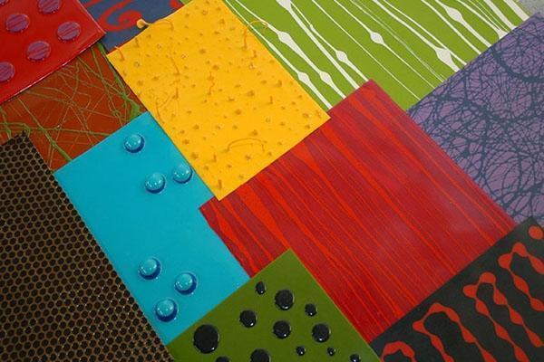Pavimenti senza fughe: gamma dei colori di resine Flexint-Gobbetto