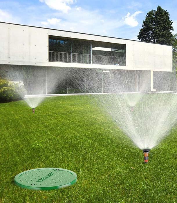 Irrigazione a goccia orto e prato