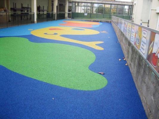 Pavimentazione antitrauma giwa