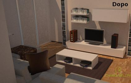 Progetto living - home relooking low cost