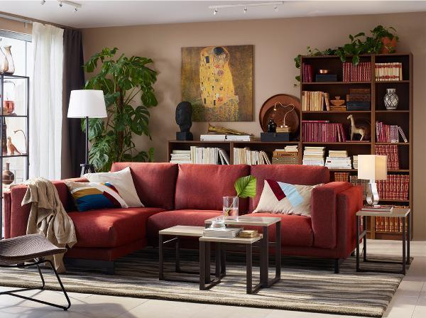 Rinnovare il soggiorno in stile etnico, con gli arredi Ikea