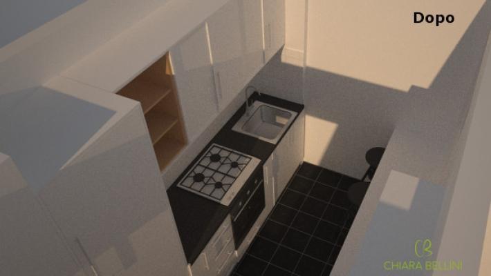 Cucina: home relooking low cost