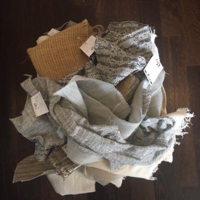 Rinnovare le tende gratis, con gli scampoli di stoffa