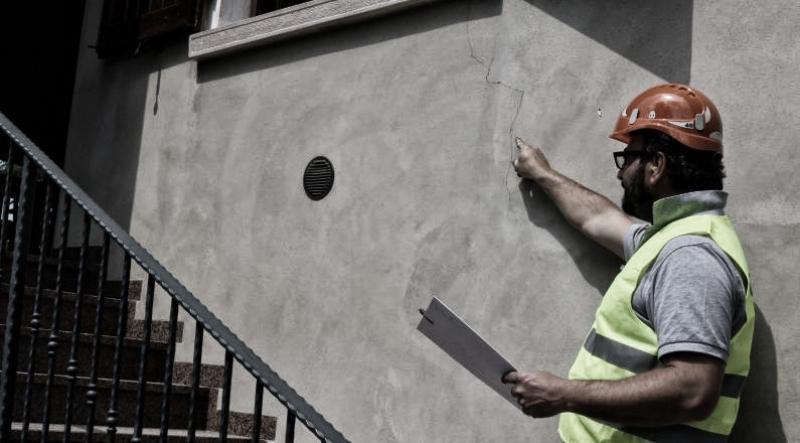Consolidamento fondazioni: Presenza di lesioni sulle murature