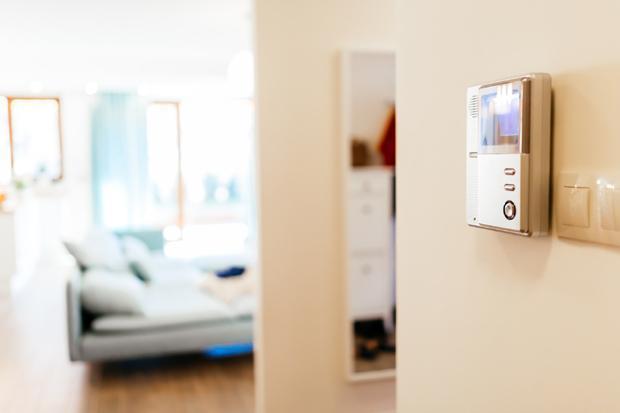 Videocitofono wireless a parete