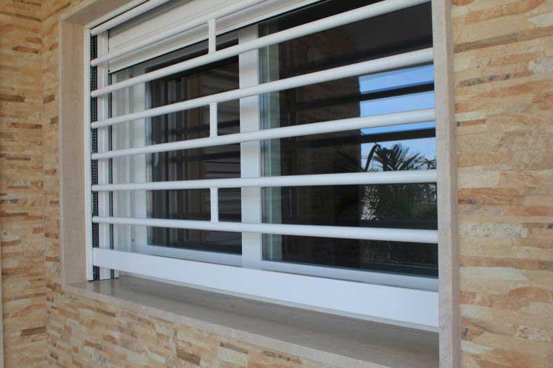 Grate finestre di sicurezza SICURLIM e domotica