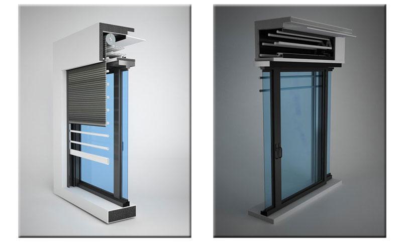 Inferriata finestra: soluzioni cassonetto per grate antintrusione SICURLIM