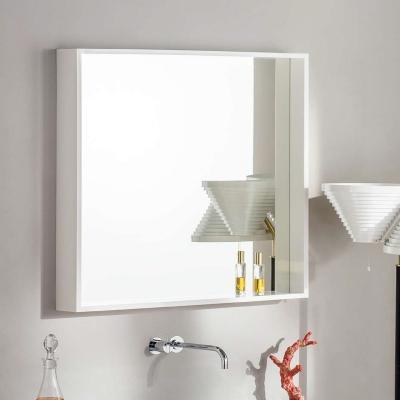 Specchio da bagno in parapan bianco di Rapsel
