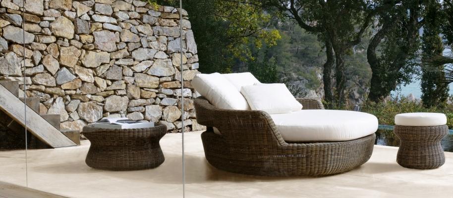 Poltroncine Eden Unopiù: un fresco relax all'aperto