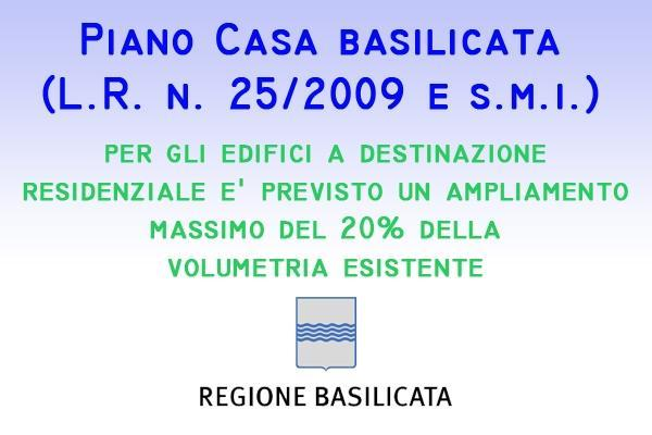 Piano Casa Basilicata