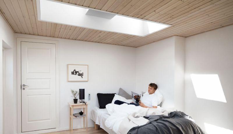 Finestre mansarda da tetto piano
