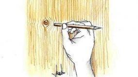 Pittura effetto legno in fai da te