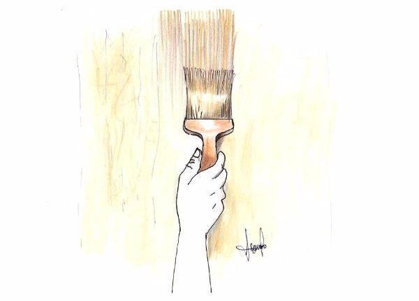 Pittura a venature effetto legno: realizzazione fai da te con pennello