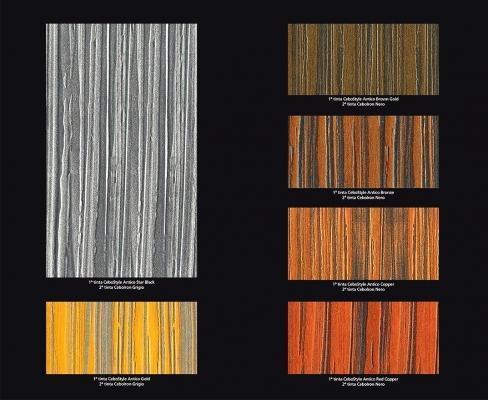 Cebos Color Barkode: tabella cromatica pitture effetto legno