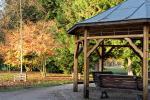 Gazebo in legno parco