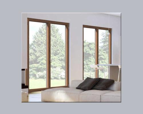 Infissi in alluminio e legno Korus by DENIA SERRAMENTI