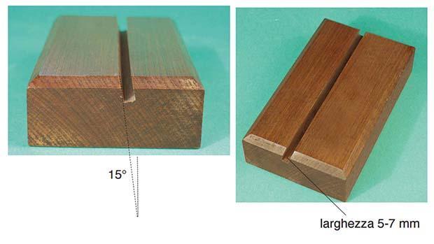 Base in legno per portafoto fai da te