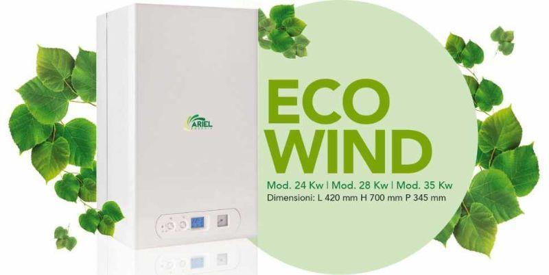 Caldaia a condensazione modello Eco Wind di Ariel Energia