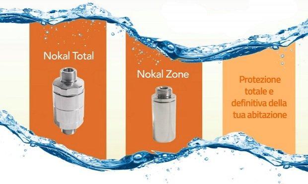Sistema trattamento Nokal nelle caldaie a condensazione di Enerkal